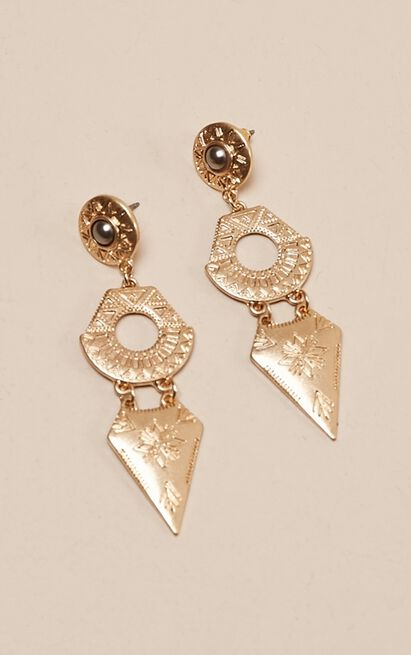 Sense Of Home earrings in gold, , hi-res image number null