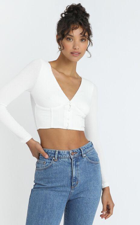Sabina Top in White
