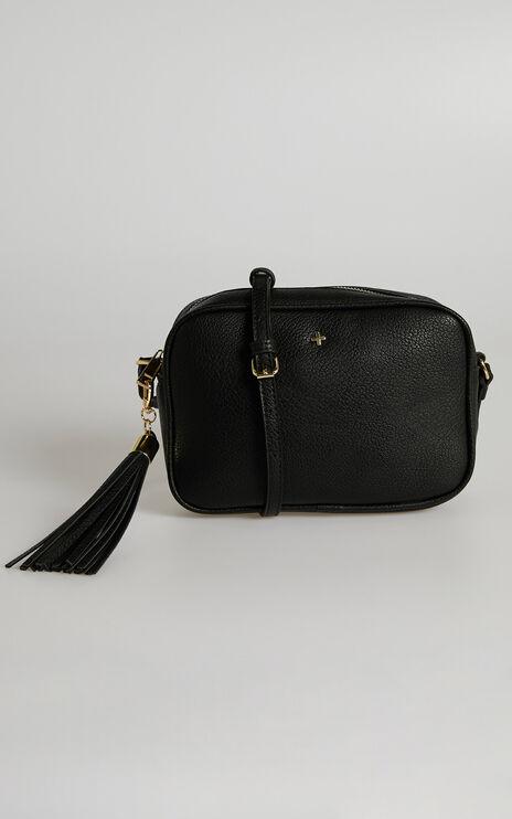 Peta and Jain - Gracie Shoulder Bag in Black Pebble