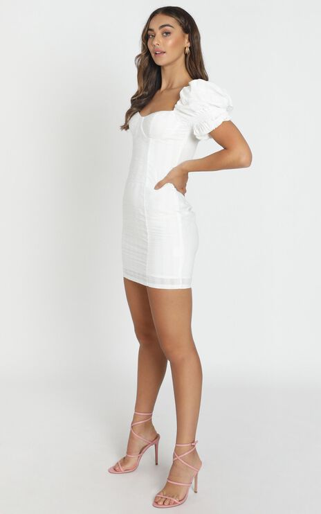 Anders Mini Dress In White