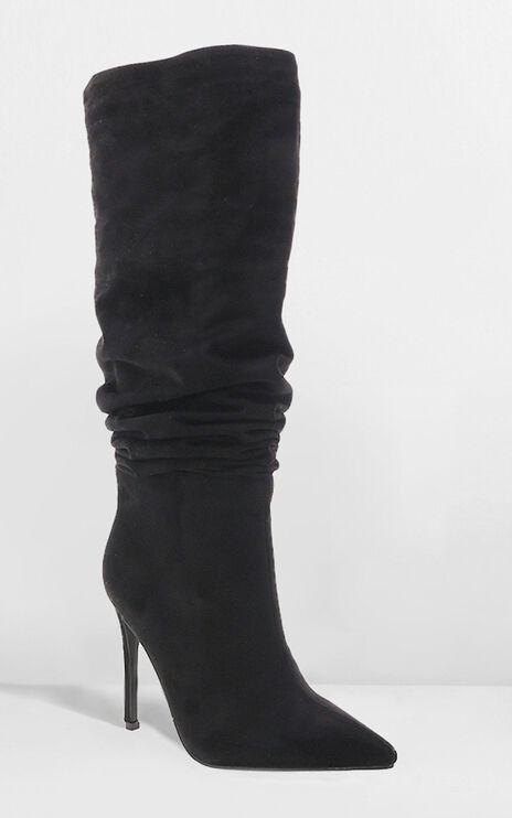 Billini - Natasha Boots In Black Micro