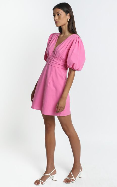 Sunray Dress in Pink