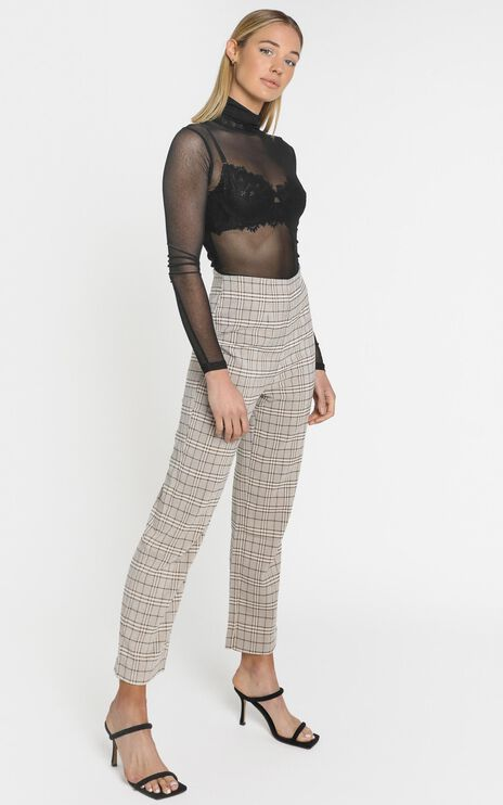 Lulu & Rose - Cora Pant in Check