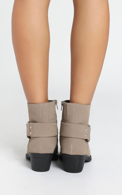 Therapy - Velez Boots in taupe - 10, Taupe, hi-res image number null