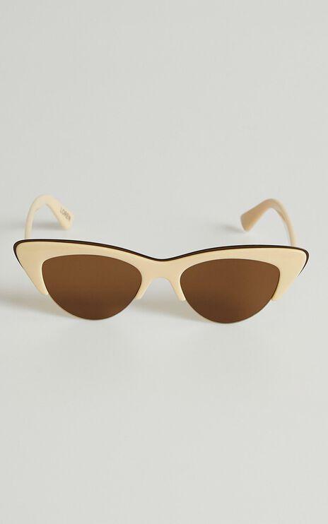 Reality Eyewear - Loren Sunglasses in Beige