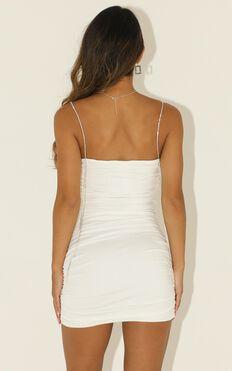 Im A Diamond Dress In White Diamante