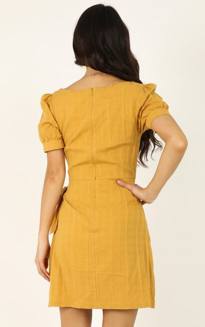 No More Excuses Dress in mustard - 20 (XXXXL), Mustard, hi-res image number null