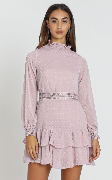 Are You Gonna Kiss Me Dress in Blush