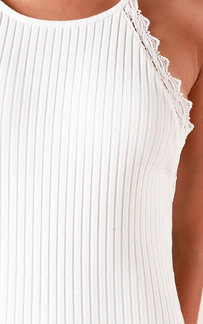 Staring Back At You bodysuit in white - 20 (XXXXL), White, hi-res image number null