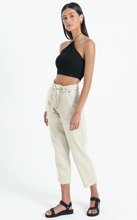 Leyton Jeans in Ecru