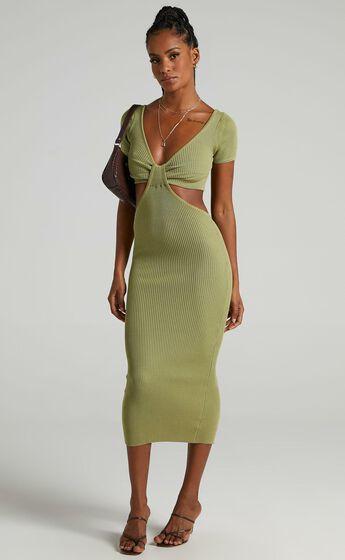 Akayla Dress in Green