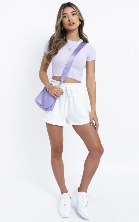 Evangeline Top in Lilac