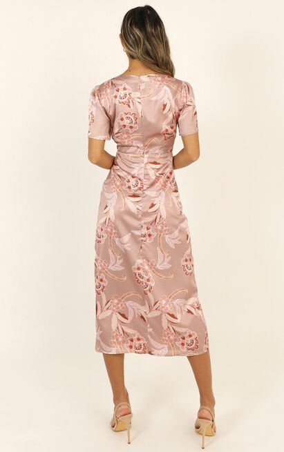 Certified Professional Dress in rose paisley - 20 (XXXXL), Pink, hi-res image number null