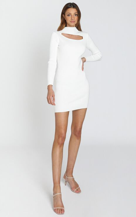 Elisia Dress in White