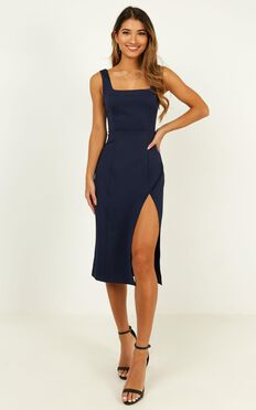Mini Love Dress In Navy