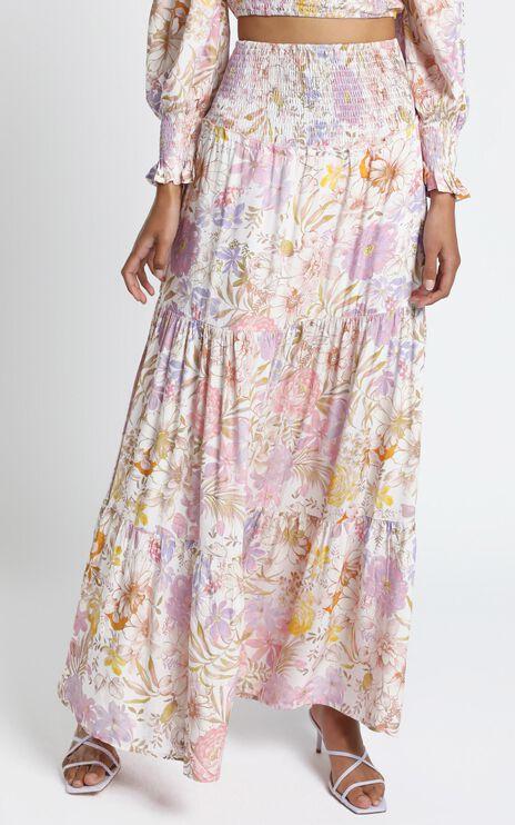 Autumn Skirt in Vintage Floral