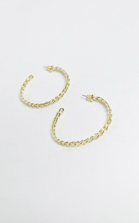 Gizela Earrings in Gold