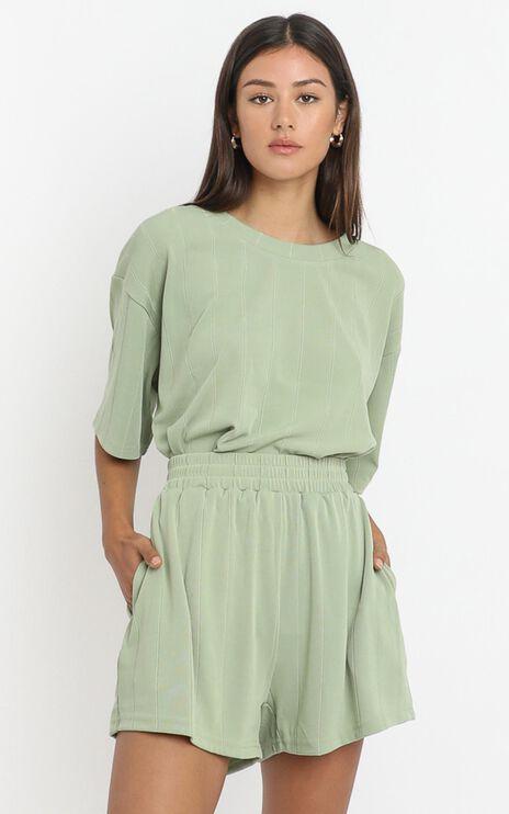 Daisy Duke Shorts in Olive