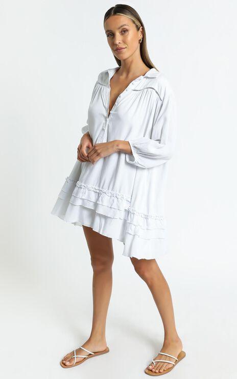 Kaya Dress in White