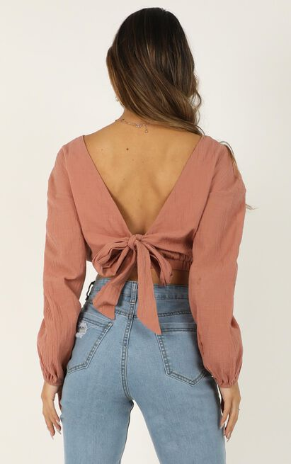 Everybodys Watching Me Top In dusty rose - 20 (XXXXL), Pink, hi-res image number null