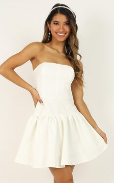 All The Memories We Share Dress In White