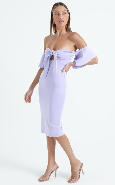 Guest Edit Dress in Lilac