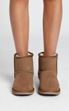 EMU Australia - Platinum Stinger Mini Boots in Chestnut