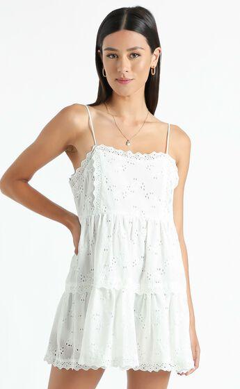 Hapi Dress in White