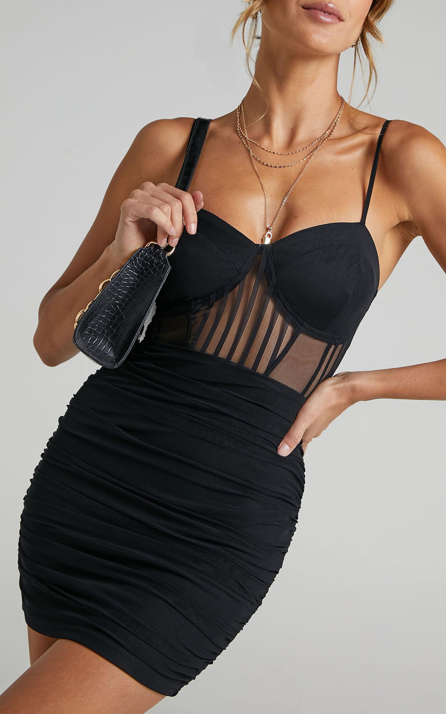 Tiyarna Dress in Black - 06, BLK1, super-hi-res image number null