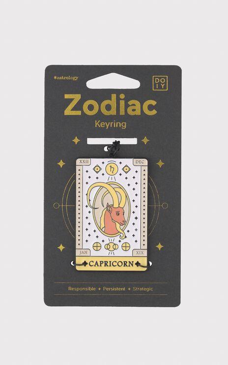 Doiy - Zodiac Keychain in Capricorn