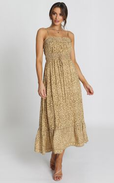 Dakotah Dress In Leopard Print
