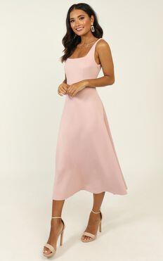 When I love Dress In Blush