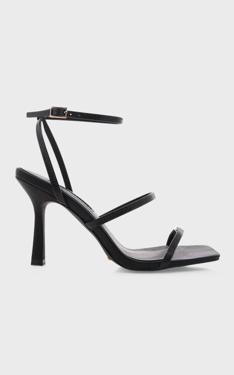 Billini - Sawyer Heels in Black Scale