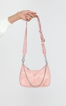 Peta and Jain - Paloma Bag in Pink Nylon