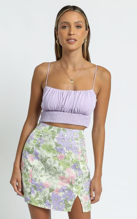 Akila Top in Lilac
