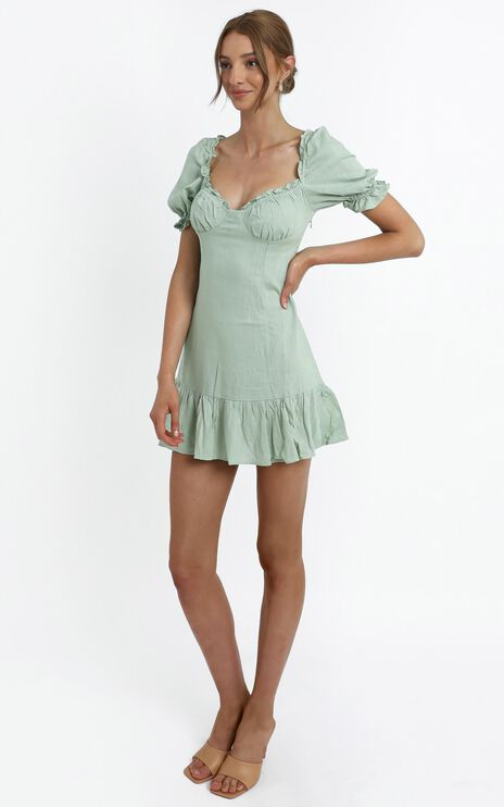 Effie Dress in Sage