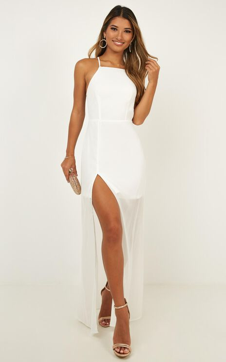 Night About You Dress In White