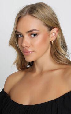 Classic Choice Hoop Earrings in Gold