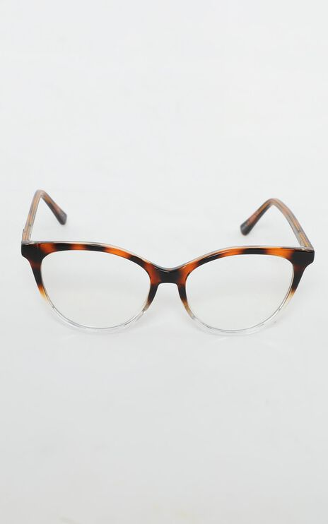 Quay - All Nighter Blue Light Glasses In Tort And Clear