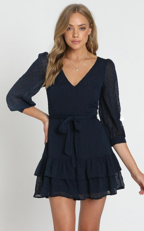 Got To Love Dress in Navy