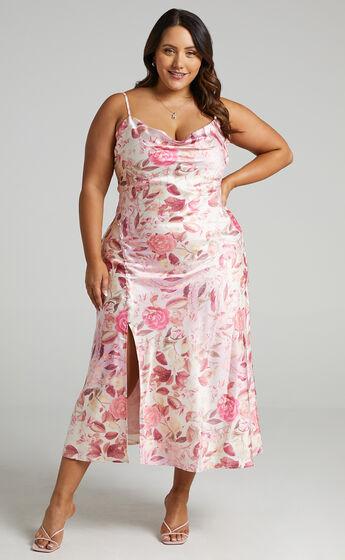 Ojai Dress in Soft Floral