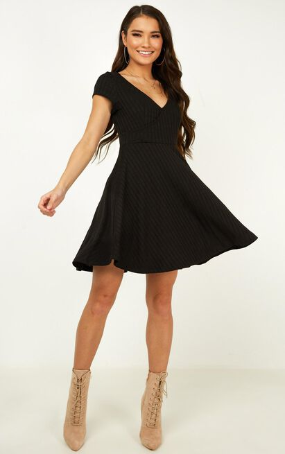 Same But Different Dress in black - 20 (XXXXL), Black, hi-res image number null