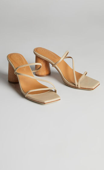James Smith - Amore Mio Strappy Sandal in Nude