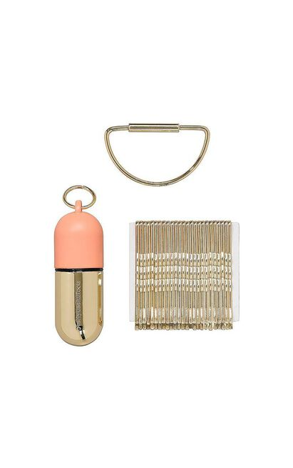 Pretty Useful Tools: Bobby Pin Caddy In Coral Reef, , hi-res image number null