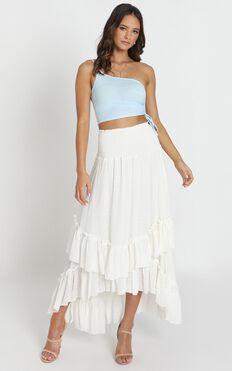 Got The Girl Skirt In White