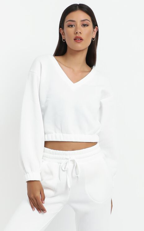 Zaylee Sweater in White
