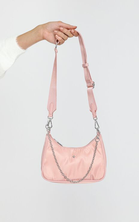 Peta and Jain - Paloma Bag in Pink Nylon