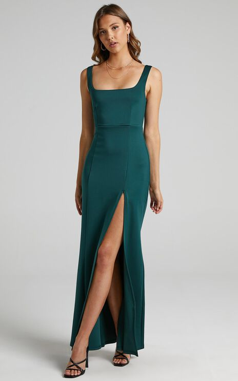 Raquelle Dress in Emerald