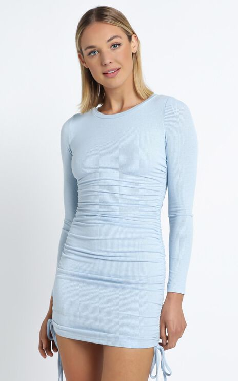 Whitmore Dress in Blue