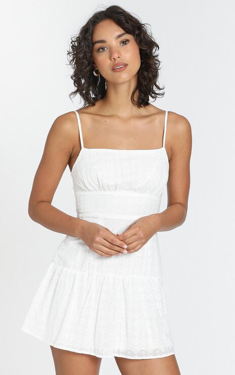 Lotte Dress in White